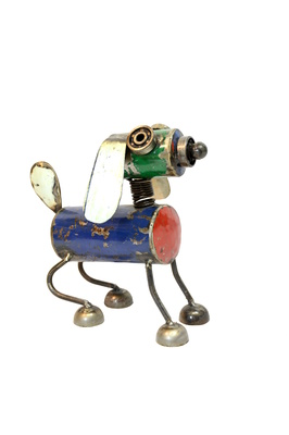 Metal art - Medium - Dog