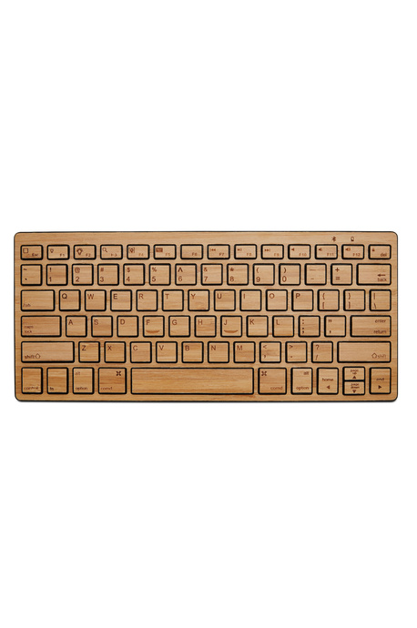 Bamboo Bluetooth keyboard for Phone or Tablet